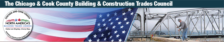Logo for Chicago & Cook County Building & Construction Trades Council